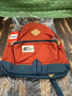 The North Face Mini Berkeley Backpack Bossa Red Conquer Blue