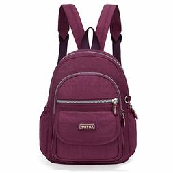 AOTIAN Mini Nylon Women Backpacks Casual Lightweight Strong