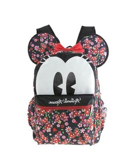 """Disney Minnie Mouse 16"""" 3-D Style School Backpack For Women"""