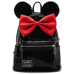 Loungefly Minnie Mouse Sequin Mini Backpack
