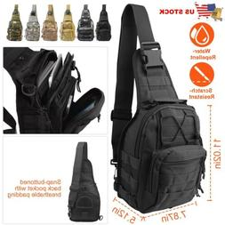 MOLLE Military Backpacks Tactical Bag Rucksack Sling Day Pac