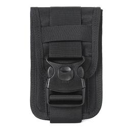 Molle Phone Pouch for 6 inch phone with card holders and mon