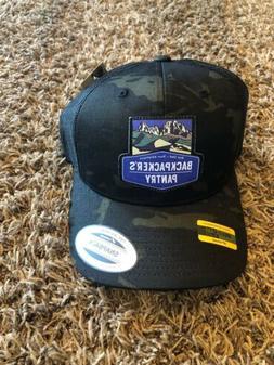 Backpackers Pantry Multi Cam Black Cap Hat with Mesh Snapbac