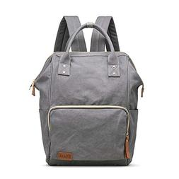 Multifunction Canvas Backpack Travel Bags for Man Woman Casu