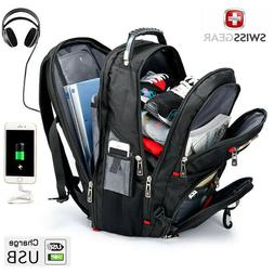 """SwissGear Multifunctional 17"""" laptop backpack USB Charged Tr"""