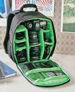 The Lakeside Collection Multipurpose Padded Camera Backpack