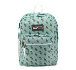 "NEW Trans by JanSport 17"" SuperMax Backpack Brook Green Brai"