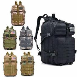 New 40L Military Tactical Backpack Rucksack Large Waterproof