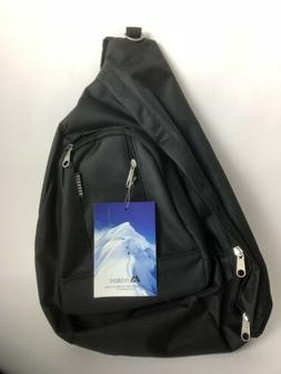 NEW Everest Black Sling Bag Shoulder Cross Body Backpack Poc