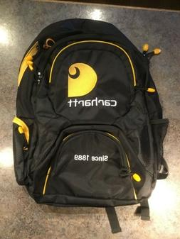 NEW Carhartt Black/Yellow Since 1889 Backpack