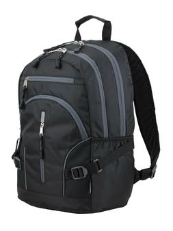 NEW Eastsport Dynamic School Laptop Hiking Backpack -  Black