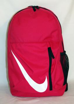 New Nike Elemental Youth Athletic Backpack -- Rush Pink