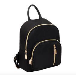 New Fashion Women Small Mini Backpack Travel Nylon Handbag S
