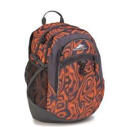 New High Sierra Fatboy Backpack Faze Mercury Back Pack Orang