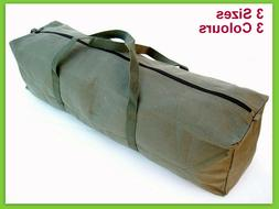 New Heavy Duty Canvas Tool Carry Bag Travel Luggage Duffel D