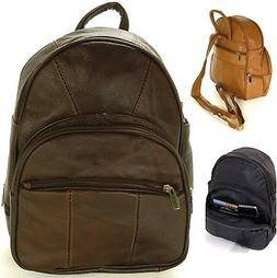 New Leather Backpack Purse Sling Bag Back Pack Shoulder Hand