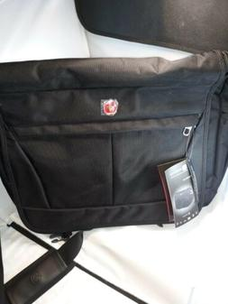 NEW Swiss Gear Messenger Laptop Bag   Shoulder Strap Black A