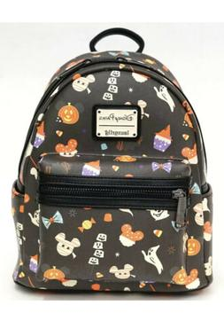 NEW Disney Parks Loungefly Mickey Icon Backpack Halloween Tr