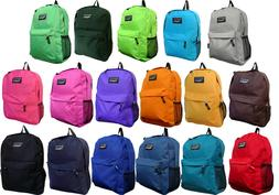 New Solid Color / Emoji School Backpack / Travel Backpack /