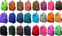 New Solid Color / Emoji School Backpack /Travel Backpack / H