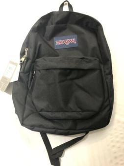 NEW JanSport Superbreak 25L Backpacks - Black 501T 100% Auth