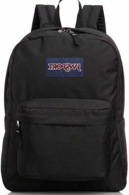 NEW JanSport Superbreak 25L Backpacks - Black 501T 100% Auth