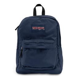 NEW JanSport Superbreak 25L Backpacks - Navy Blue 501T 100%