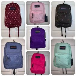 NEW JanSport Superbreak 25L Backpacks - NWT - Pink/Purple/Bl