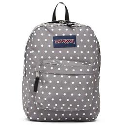 New Jansport Superbreak Backpacks JS00T5010K4 Shady Grey Whi
