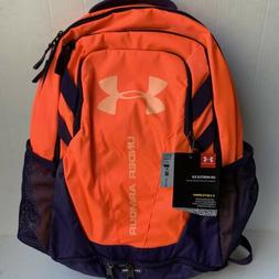 New!! Under Armour Team Hustle 3.0 Backpack -lAfterburn/Peac