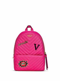 NEW Victoria's secret Embellished V-Quilt Small City Backpac