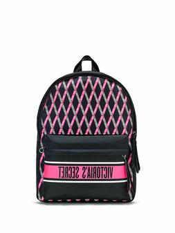 NEW Victoria's Secret Ribbon Logo City Backpack 2DAY DELIVER