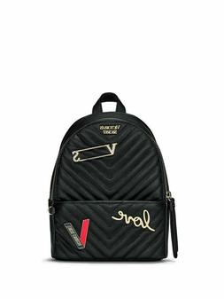 NEW Victorias Secret Embellished V-Quilt Small City Backpack