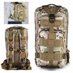 NEW Waterproof Military Tactical Pack Sports Backpack Campin