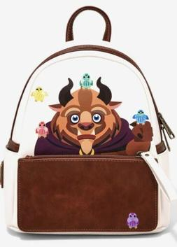 NEW WITH TAGS!  Loungefly Disney Beauty and the Beast Chibi