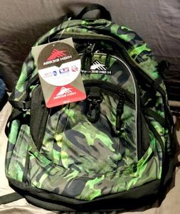 """New With Tags! High Sierra """"Fat Boy"""" Backpack - Black &"""