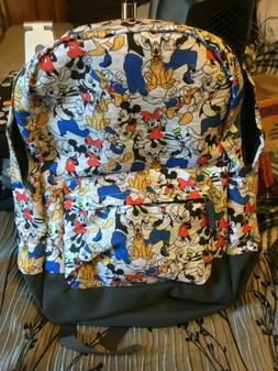 New with tags, Disney Store Backpack. Mickey, Minnie, Goofy,