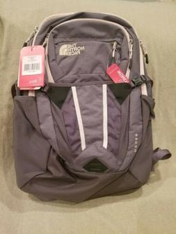 NEW The North Face Womens Recon Backpack NF0A3KV2BX9-OS Gray
