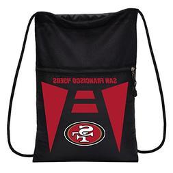 NFL San Francisco 49ers Sports Fan Backpacks, black, One Siz