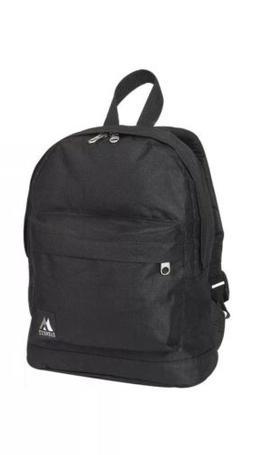 NIB Everest Junior Kids Backpack Back To School Black Bag Sm