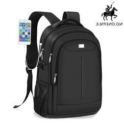 NO.ONEPAUL Mens School Travel rucksack <font><b>Laptop</b></