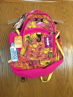 NWT High Sierra Curve Tech Backpack, Paradise-Flamingo #7554