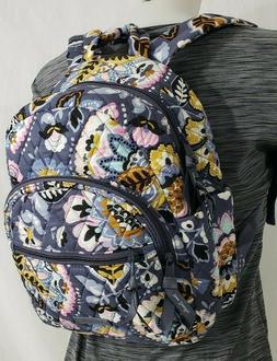 NWT Vera Bradley ESSENTIAL COMPACT BACKPACK Travel Purse Bag