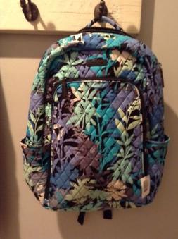 NWT Vera Bradley Laptop Backpack-Camofloral