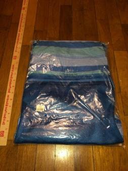 NWT Vera Bradley Lighten Up Backpack in Blue Tonal Stripe!