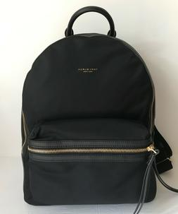 NWT!!Tory Burch Perry Nylon Color-Block ZIP Backpack Royal N
