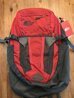 "NWT The North Face Recon Backpack 15"" Laptop Bag Red NEW"
