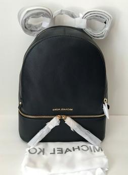 NWT!Michael Kors Rhea Zip Pebble Leather Medium Backpack 5 C