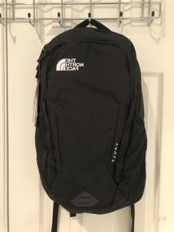 NWT The North Face Vault TNF Black Backpack Laptop Sleeve Wh