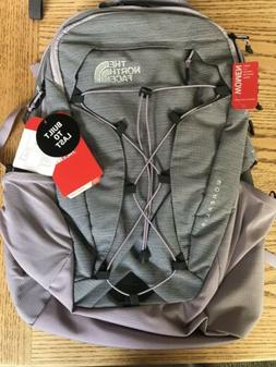 NWT The North Face Women's Borealis Luxe Backpack Ashen Purp